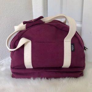 Kate Spade Saturday Purple Weekender Travel Bag